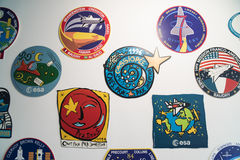ESA - European Astronout Center - sticker Royalty Free Stock Images