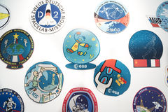 ESA - European Astronout Center - sticker Royalty Free Stock Photography