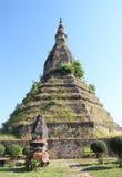 Esa presa en Vientián, Laos Imágenes de archivo libres de regalías