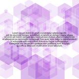 Esagoni lilla Fondo astratto di vettore - Vektorgrafik ENV 10 illustrazione vettoriale