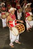 Esala Perahera: bhuddist festiwal w Kandy, Sri Lanka, 2015 Obrazy Royalty Free