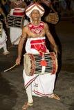 Esala Perahera: bhuddist festiwal w Kandy, Sri Lanka, 2015 Zdjęcie Royalty Free
