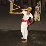Esala Perahera: il festival di bhuddist a Kandy, Sri Lanka, 2015 fotografie stock libere da diritti