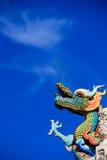 Esalazione del drago Immagine Stock