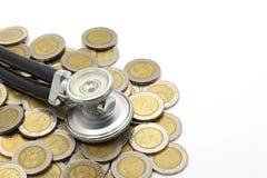Esame finanziario fotografia stock libera da diritti