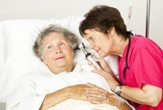 Esame medico dell'ospedale fotografia stock