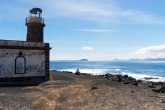 Esaminando Fuerteventura Fotografie Stock Libere da Diritti
