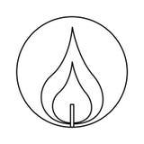 esamini in controluce la prima icona di comunione royalty illustrazione gratis