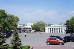 Esamini Grafskaya Pristan Fotografia Stock