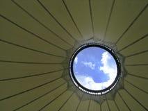 Esamini il cielo fotografie stock