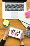 esamini il concetto di affari di tempo, tempo per l'esame, il gruppo h di affari Immagine Stock Libera da Diritti