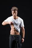 Esamini il mio corpo perfetto Fotografia Stock