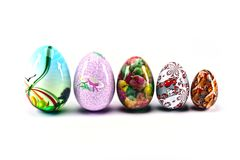Esater color eggs Stock Photo