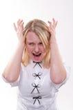 Esaurimento nervoso Fotografie Stock