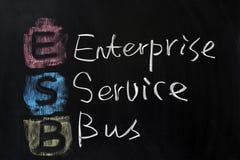 ESB - de Bus van de Dienst van de Onderneming stock foto's