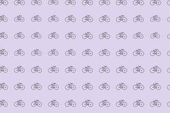 Esboço abstrato do fundo generative da arte da bicicleta Projeto, detalhes, repetição & conceito ilustração stock