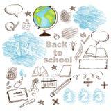 Esboço da educação ilustração stock