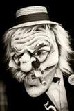 Esboço da face com máscara Foto de Stock Royalty Free