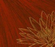 Esboço da flor ilustração do vetor