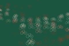 Esboço da mão do fundo da bicicleta tirada, bom para o projeto gráfico Tampa, criativo, repetição & detalhes ilustração do vetor