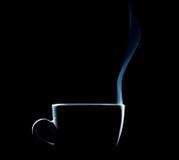 Esboço de um copo de café cozinhando foto de stock royalty free