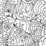 Esboço de Zentangle Fotografia de Stock Royalty Free