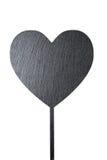 Esboço do coração em um fundo branco Foto de Stock