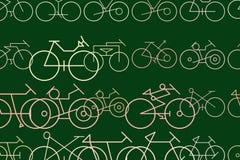 Esboço do fundo, da textura ou do contexto tirado mão do sumário da bicicleta Digitas, Web, detalhes & colorido ilustração do vetor