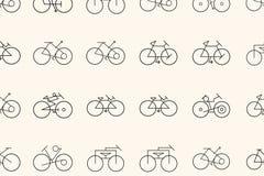 Esboço do fundo, da textura ou do contexto tirado mão do sumário da bicicleta Gráfico, detalhes, desenho & arte ilustração stock