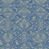 Esboço floral dos diamantes Imagem de Stock Royalty Free
