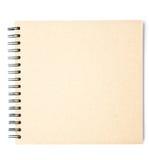 Esboço ou caderno Imagem de Stock Royalty Free