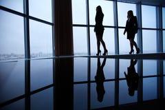 Esboços das mulheres de negócios Imagens de Stock