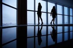 Esboços das mulheres de negócios Imagens de Stock Royalty Free