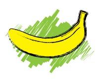 Esbo?o da banana madura   Imagens de Stock Royalty Free