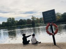 Esboce o future— — Hyde Park fotografia de stock