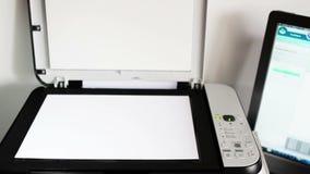 Escáner almacen de metraje de vídeo