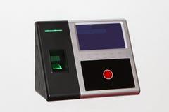 Escáner de la huella dactilar foto de archivo