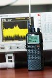 Escáner de radio de las comunicaciones profesionales Imagenes de archivo