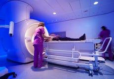 Escáner de resonancia magnética imagen de archivo