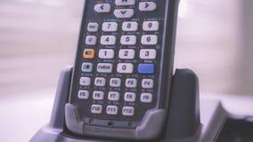 Escáner del código de barras Imagen de archivo libre de regalías