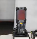 Escáner del código de barras del PDA Fotos de archivo