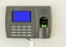 Escáner del finger Fotografía de archivo