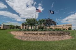 Escândalo imigrante Center juvenil do abuso de Shenandoah Valley imagens de stock royalty free