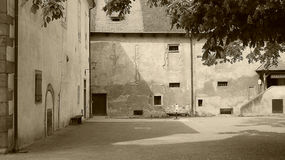 Escúdese el ¡t, rglitz de KÅ™ivoklà del ¼ de Pà Fotografía de archivo libre de regalías
