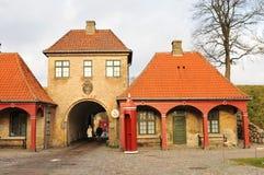 Escúdese en Copenhague Foto de archivo libre de regalías