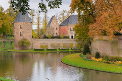Escúdese Huis Bergh, 's-Heerenberg, Güeldres, Países Bajos Fotos de archivo libres de regalías