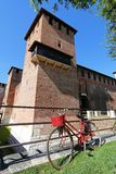 Escúdese la fortaleza (Castelvecchio) en Verona, Italia septentrional Fotos de archivo libres de regalías