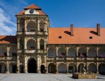 Escúdese Moravska Trebova Imagenes de archivo