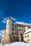 Castillo Nowy Wisnicz en Polonia Fotografía de archivo libre de regalías