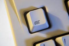 ESC键 免版税库存照片